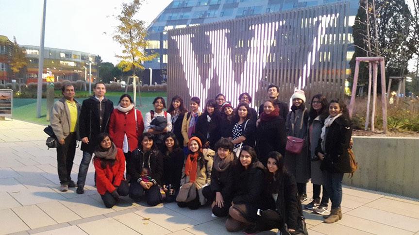 At the WU Campus Vienna